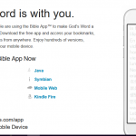 YouVersion Bible site