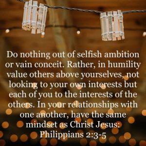 Phil 2: 3-5
